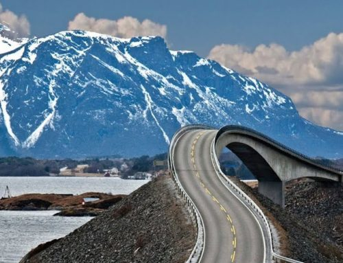 A fascinating road for a breath-taking panorama